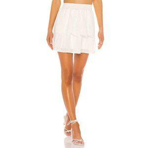 MINKPINK Nirvana Eyelet Lace Tier Skirt